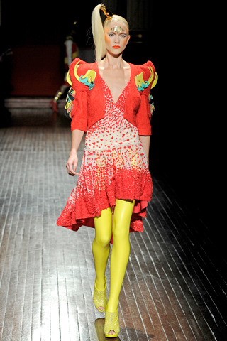 From Manish Aurora's Spring 2011 Collection. Courtesy of Style.com.